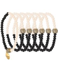 Camila Klein - Strass Embellishment Bracelet Set - Lyst