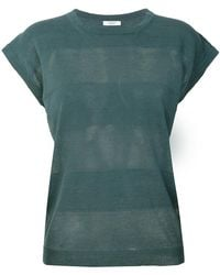 Peserico - Casual Striped T-shirt - Lyst