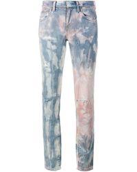 Faith Connexion | Tie Die Distressed Jeans | Lyst
