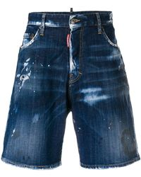 DSquared² - Shorts im Distressed-Look - Lyst
