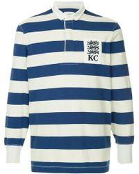 Kent & Curwen - Striped Polo Shirt - Lyst