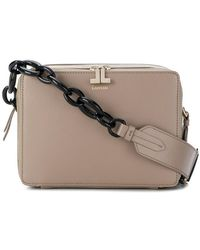 8cb0f80c10b Burberry The Small Bucket Bag In Leather Light Toffee in Brown - Lyst