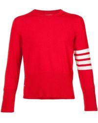Short 4 Browne Thom Bar Cashmere Lyst Pullover AtUwxOWwqH