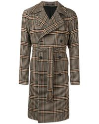 Tagliatore - Double Breasted Houndstooth Coat - Lyst