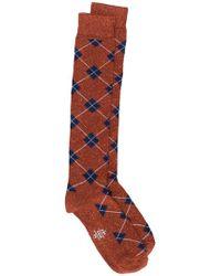Eleventy - Rhomb Elongated Socks - Lyst