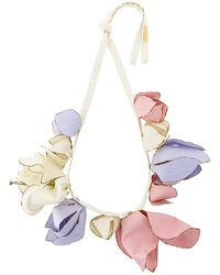 Marni - Floral Statement Necklace - Lyst