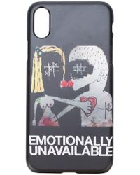 Haculla - Emotionally Unavailable Iphone X Case - Lyst