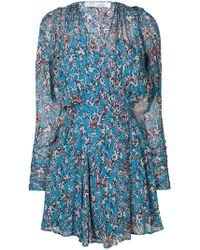 Lyst - Robe courte Lucine Iro en coloris Noir d4e63335bed3