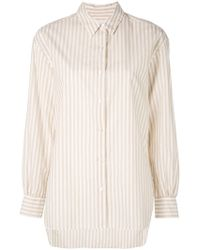 Nili Lotan - Classic Striped Shirt - Lyst