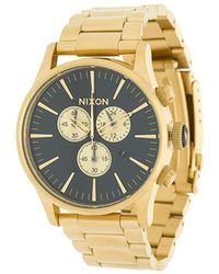 Nixon - Classy Black Sunray Watch - Lyst