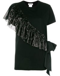 BROGNANO - Sequins Embellished T-shirt - Lyst