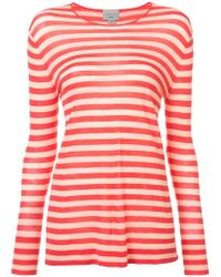 Jason Wu - Striped Fitted Sweater - Lyst
