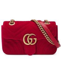 Gucci | Gg Marmont Mini Bag | Lyst