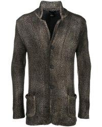 Avant Toi - Textured Cardi-coat - Lyst