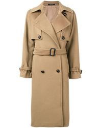 Tagliatore - Belted Trench Coat - Lyst