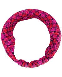 Missoni - Knitted Patterned Headband - Lyst
