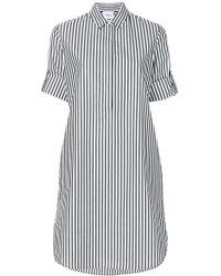 Akris Punto - Striped Shirt Dress - Lyst