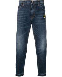 Dolce & Gabbana - Pig Patch Jeans - Lyst