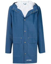 Stutterheim - Waterproof Hooded Unisex Jacket - Lyst
