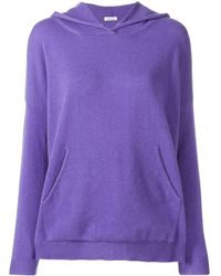 P.A.R.O.S.H. - Cashmere Knitted Hoodie - Lyst