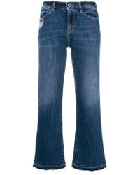 Pinko - 'Margot' Cropped-Jeans - Lyst