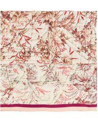 Pierre Louis Mascia | Printed Patchwork Scarf | Lyst