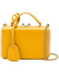 Mark Cross - Top Handle Clutch Bag - Lyst