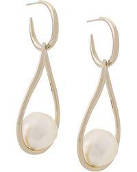 Ferragamo - Baroque Pearl Earrings - Lyst