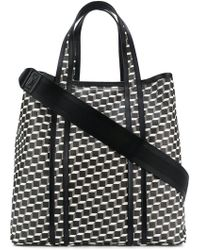 Pierre Hardy - Canvas Cube Tote Bag - Lyst