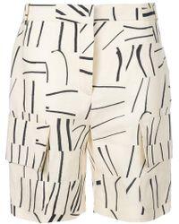 Victoria, Victoria Beckham - Shorts mit aufgesetzten Taschen - Lyst