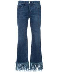 3x1 - Tassel Fringed Jeans - Lyst