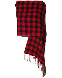 Preen By Thornton Bregazzi - Tu Checked Large Scarf - Lyst