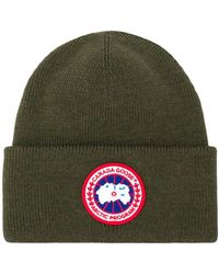 Canada Goose Bonnet à patch logo