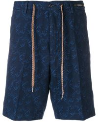 PT01 - Tailored Patterned Shorts - Lyst