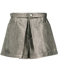 Chloé - Inverted Pleat Shorts - Lyst