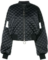 Off-White c/o Virgil Abloh - Quilted Bomber Jacket - Lyst