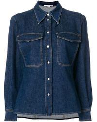Stella McCartney - Reina Organic Denim Shirt - Lyst