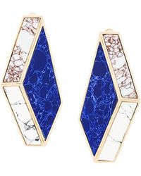 Eshvi - Nino Eliava X 'lava' Clip-on Earrings - Lyst