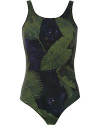 Isolda - Printed Swimsuit - Lyst