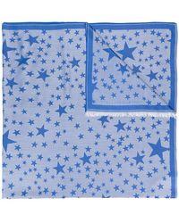 Stella McCartney - Star Print Scarf - Lyst