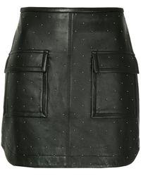 Manning Cartell - Studded Mini Skirt - Lyst