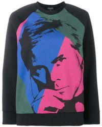 Giorgio Armani - Printed Sweatshirt - Lyst