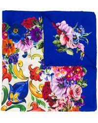 Dolce & Gabbana - Majolica Print Neck Tie - Lyst