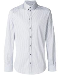 Dolce & Gabbana - Striped Shirt - Lyst