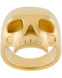 Northskull - Skull Ring - Lyst