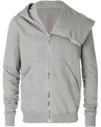 Rick Owens Drkshdw - Asymmetric Zipped Jacket - Lyst