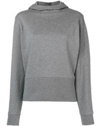 Closed - Hooded Fitted Sweater - Lyst