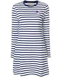Être Cécile - Striped T-shirt Dress - Lyst