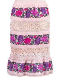 Cecilia Prado   Midi Skirt   Lyst