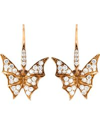 Stephen Webster | Diamond Wing Earrings | Lyst